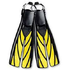 Long Split Fins by Atomic Aquatics