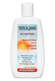 Tropical Sands Biodegradable Sunscreen