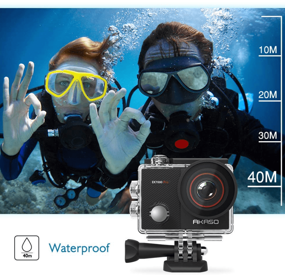 Akaso EK7000 PRO Review (The Good and Bad vs GoPro   )