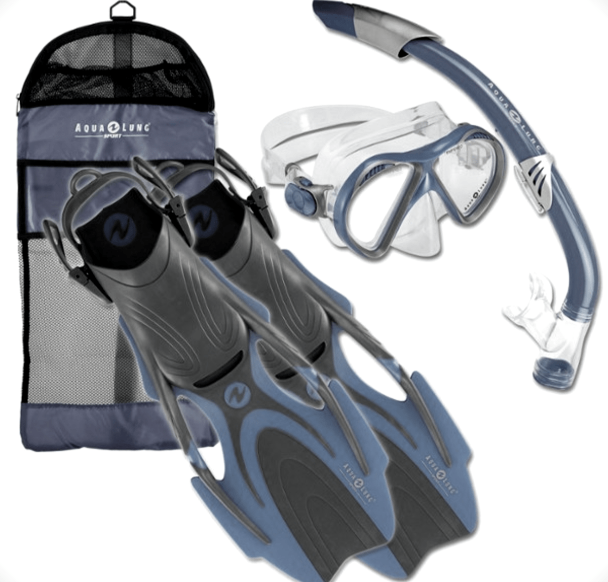 Aqua Lung Snorkel Set Review Snorkels And Fins