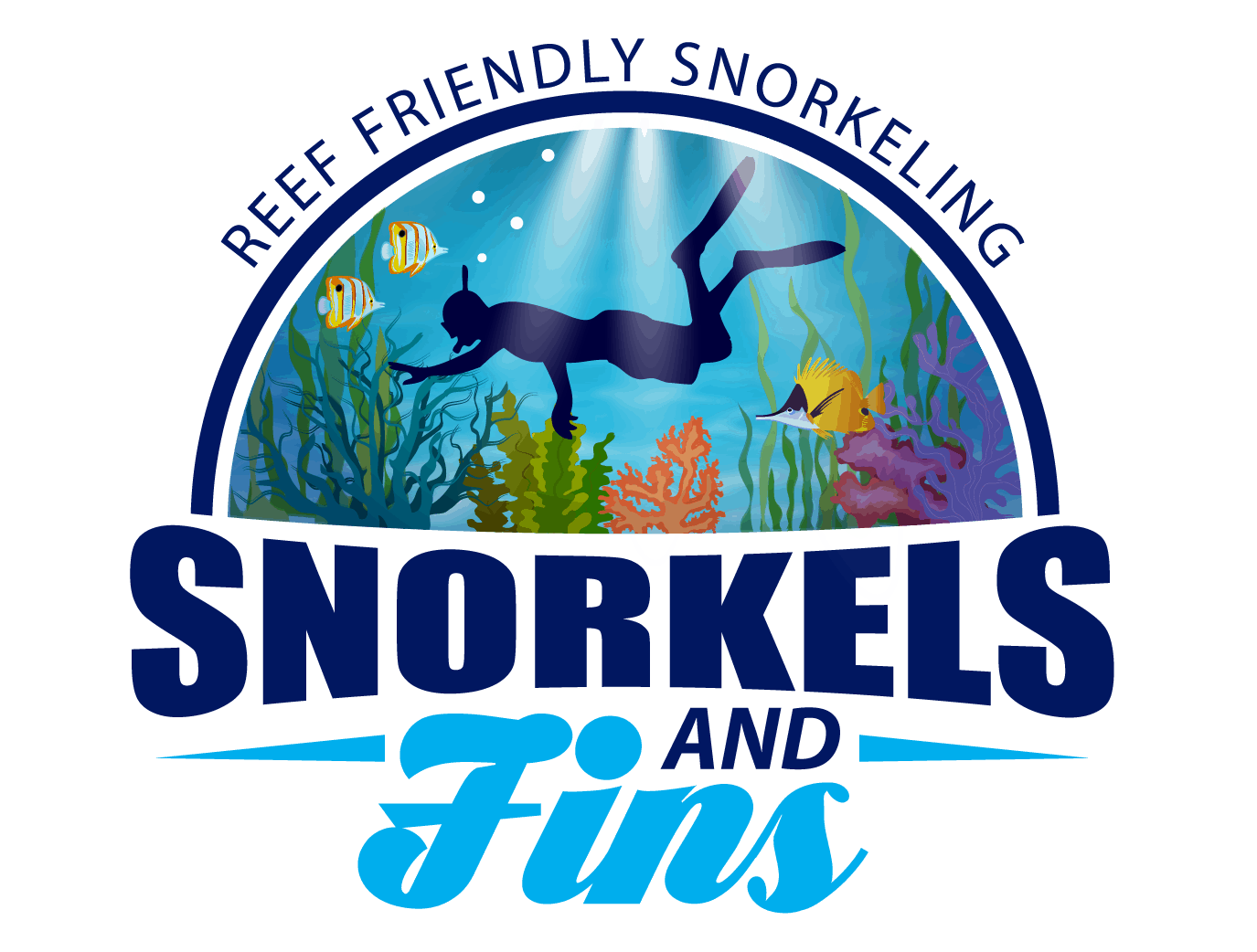 Snorkels and Fins