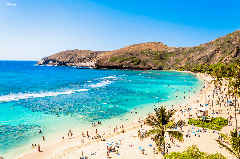 hanauma bay hawaii beach