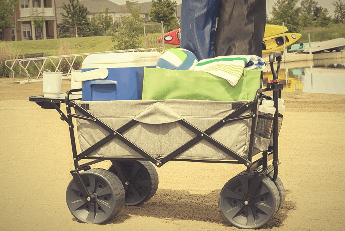 Best Beach Cart Wagon For Soft Sand